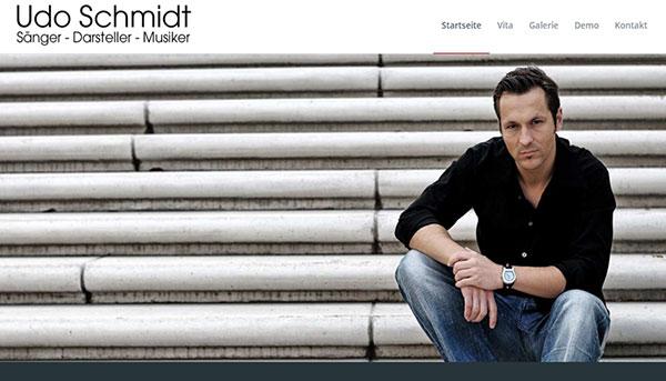 Referenzen, Website Udo Schmidt